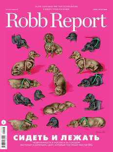 Robb Report in Summer: Designing the Future