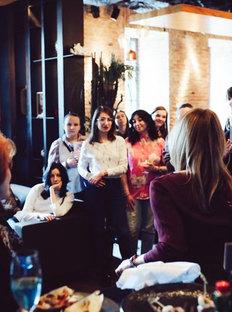 Grazia Magazine Hosts Insta-Lunch