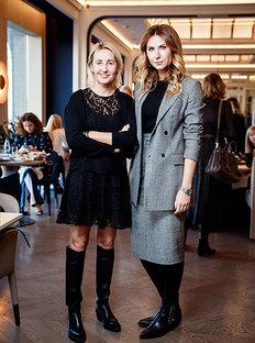Harper's Bazaar Invited Business Partners to Breakfast