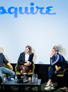 Esquire Held Public Talk in London