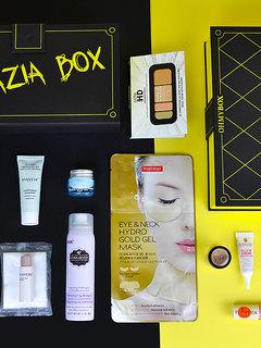 Grazia Box: Stylish clutch bag with superior cosmetics