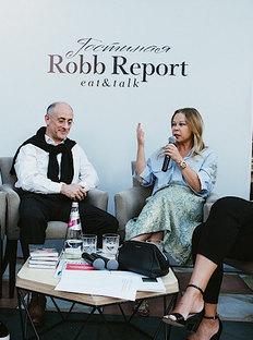В «Гостиной Robb Report» обсудили коллекционирование искусства
