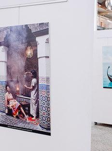 Harper's Bazaar Presented Travel in Fashion Exhibition