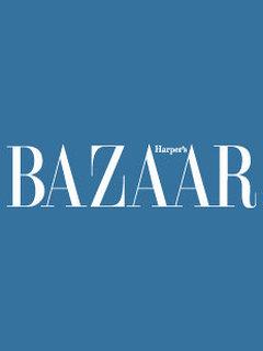 Рекламная кампания ноябрьского Harper's Bazaar