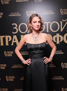 Aliona Peneva Presented Zolotoy Gramophone to Dima Bilan