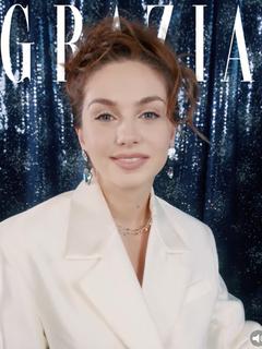 Grazia: новогодний digital-журнал