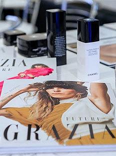 Grazia пригласила гостей в бутик Chanel Moscow Studio