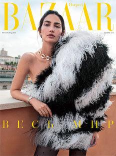 Harper's Bazaar в декабре: номер в двух томах