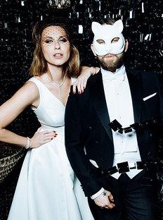Harper's Bazaar Held New Year's Ball