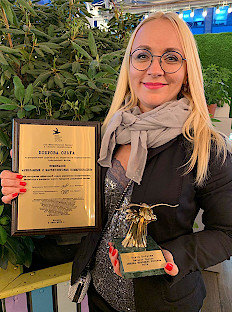 Olga Bobrova and Sergey Minaev — Winners of Media Manager of Russia 2019 Award